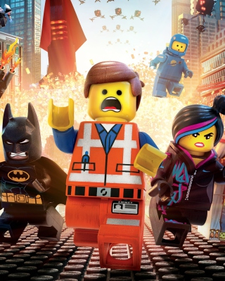The Lego Movie 2014 sfondi gratuiti per iPhone 6 Plus