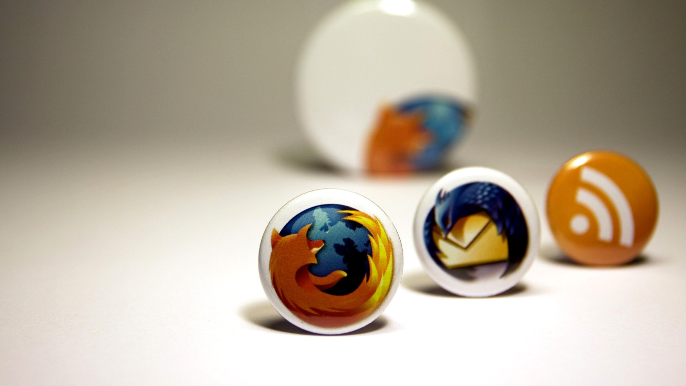 Screenshot №1 pro téma Firefox Browser Icons 1366x768