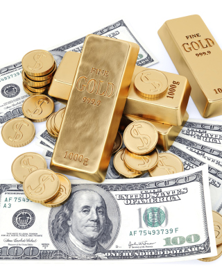Free Money And Gold Picture for Nokia C1-01