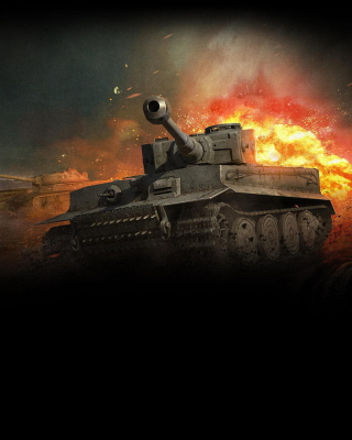 World Of Tanks Background for HTC Titan