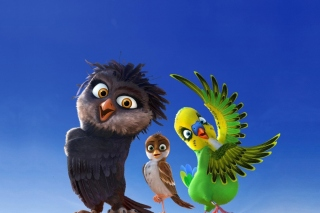 Angry Birds the Movie - Obrázkek zdarma pro Samsung I9080 Galaxy Grand