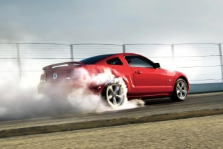 Red Mustang GT Best USA Sporcar Picture for 1920x1080