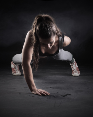 Pushups Exercise Background for Nokia C5-06