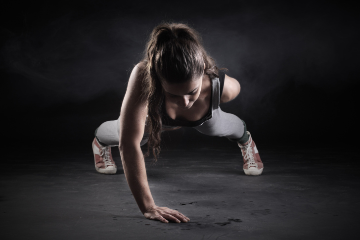 Pushups Exercise wallpaper