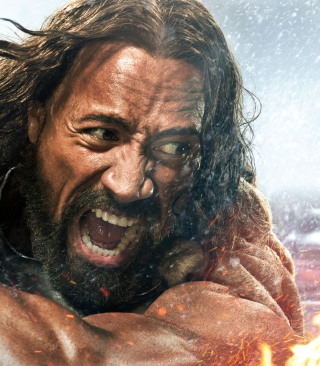 Free Dwayne Johnson in Hercules Picture for 240x320