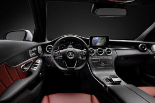 Free Mercedes Benz C250 AMG W205 2014 Luxury Interior Picture for Android, iPhone and iPad