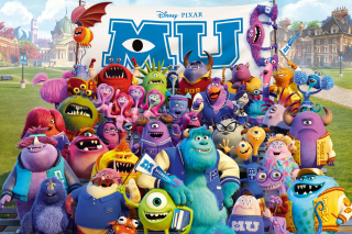 Monsters University Pixar papel de parede para celular