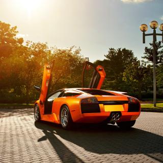 Картинка Lamborghini HD на телефон iPad mini
