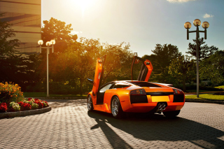 Lamborghini HD Background for Nokia XL