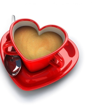Free Cup Of Love Picture for 240x320