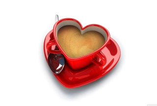 Cup Of Love Background for Android, iPhone and iPad