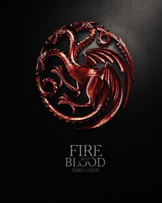 Targaryen Game of Thrones Background for iPhone 5