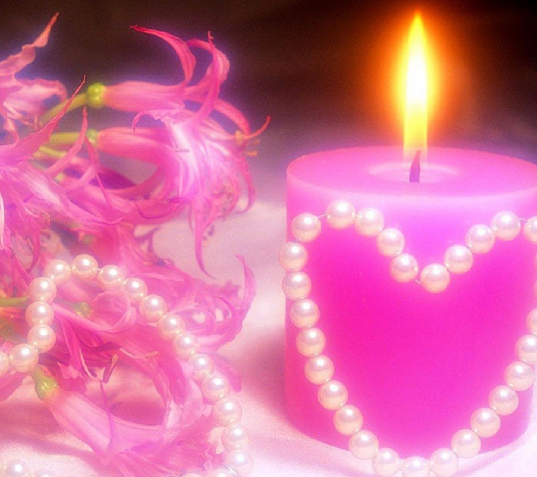 Сердце-свеча без смс