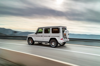 Mercedes AMG G 63 SUV 2018 Wallpaper for Android, iPhone and iPad
