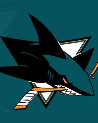 San Jose Sharks NHL Team Background for Nokia C-5 5MP