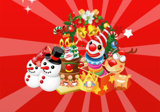 Christmas Background for Android, iPhone and iPad