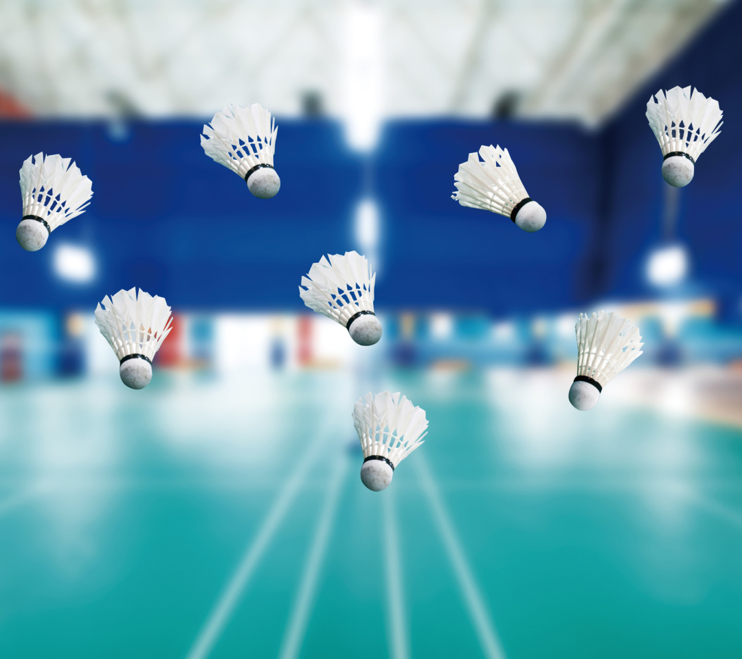Das Badminton Court Wallpaper 1080x960