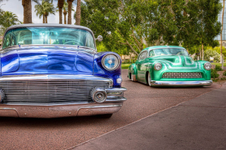 Retro Buick Eight Picture for Android, iPhone and iPad
