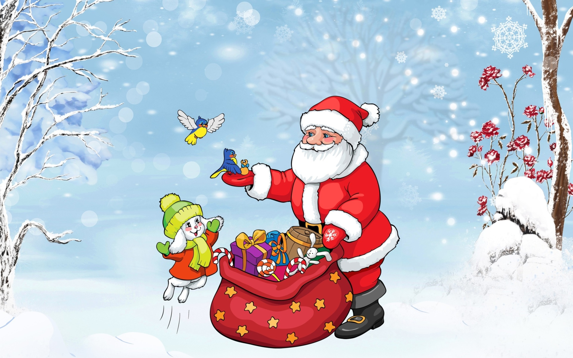 Screenshot №1 pro téma Santa Claus And The Christmas Adventure 1920x1200