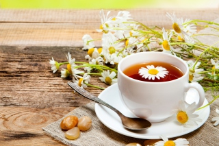 Chamomile Tea Wallpaper for Android, iPhone and iPad