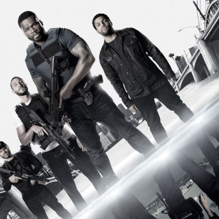 Den of Thieves movie with 50 Cent, Oshea Jackson, Jr Pablo Schreiber sfondi gratuiti per 1024x1024