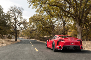Toyota FT1 Wallpaper for Android, iPhone and iPad