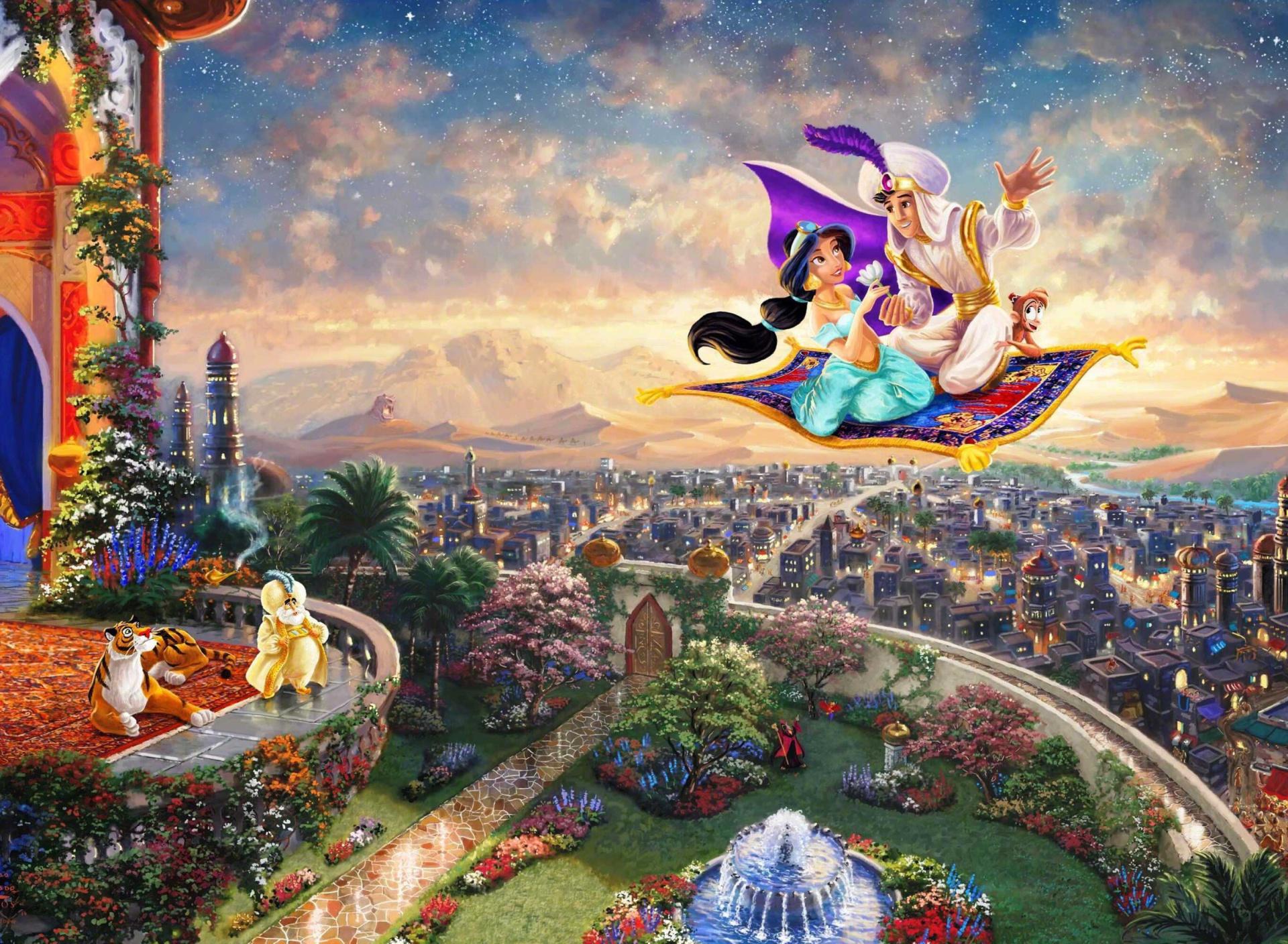 Волшебную сказку с картинками