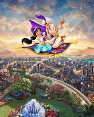 Aladdin Background for iPhone 5