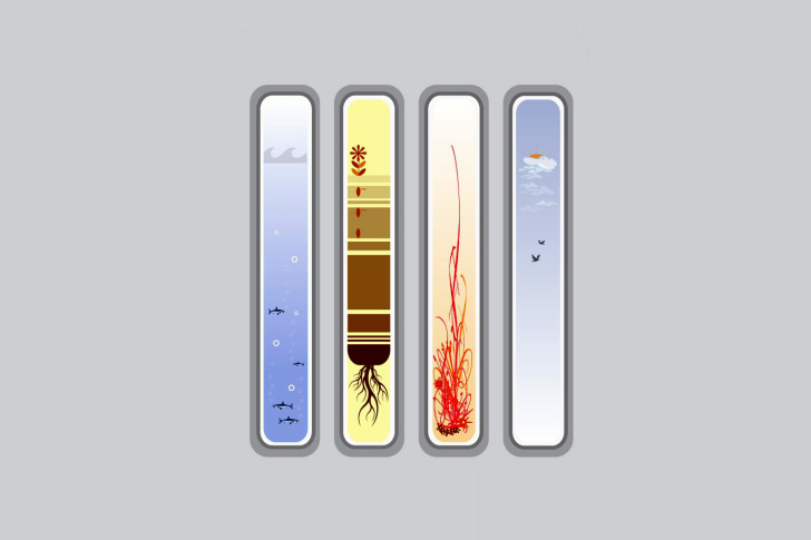Das Four Elements Wallpaper
