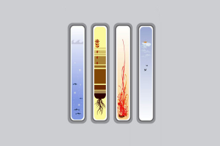 Four Elements papel de parede para celular para 1600x900