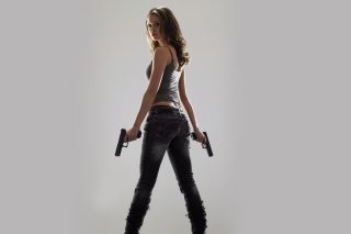 Terminator The Sarah Connor Chronicles papel de parede para celular para Samsung Galaxy Tab 4G LTE
