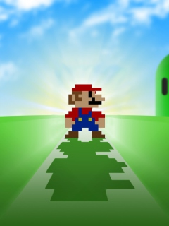 Screenshot №1 pro téma Super Mario Video Game 240x320