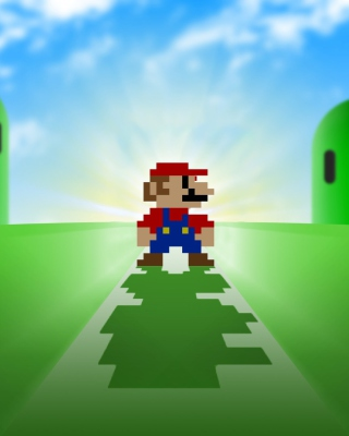 Super Mario Video Game papel de parede para celular para Nokia X2