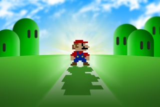 Super Mario Video Game Picture for Samsung Galaxy Tab 7.7 LTE