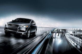 Audi Q7 Background for Android, iPhone and iPad