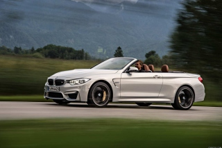 BMW M4 Convertible Background for Android, iPhone and iPad