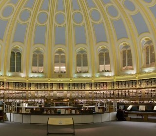 British Museum - Reading Room sfondi gratuiti per 1024x1024