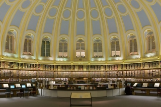 British Museum - Reading Room Wallpaper for Android, iPhone and iPad