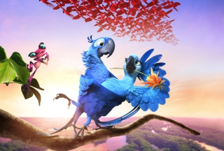Kostenloses Rio 2 2014 Movie Wallpaper für Android 540x960