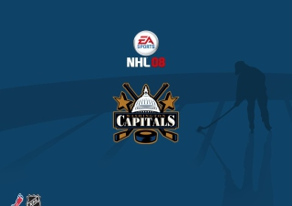 Nhl 08 - Washington Capitals sfondi gratuiti per Samsung Galaxy Note 2 N7100