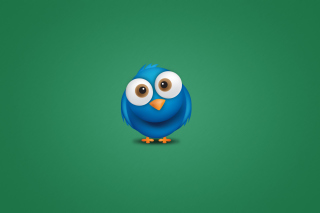 Funny Blue Bird sfondi gratuiti per cellulari Android, iPhone, iPad e desktop