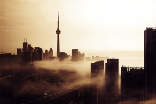City Fog Picture for Android, iPhone and iPad