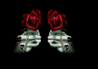 Free Gothic Rose Picture for Android, iPhone and iPad