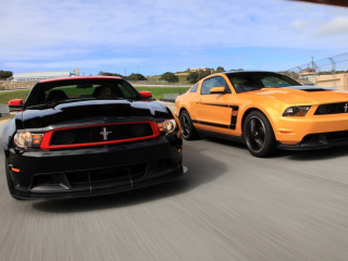 Boss 302 Ford Mustang screenshot #1 320x240