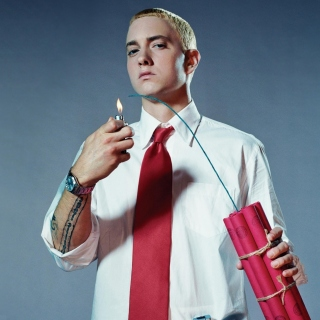 Eminem The Real Slim Shady papel de parede para celular para iPad