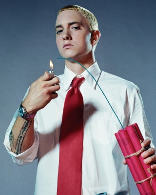 Kostenloses Eminem The Real Slim Shady Wallpaper für Nokia X2