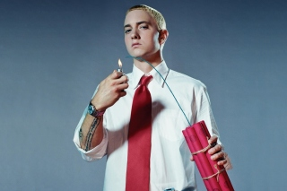 Eminem The Real Slim Shady sfondi gratuiti per 320x240