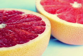 Macro Grapefruit sfondi gratuiti per cellulari Android, iPhone, iPad e desktop