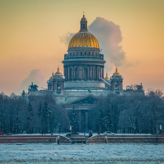Free Saint Isaacs Cathedral in Saint Petersburg Picture for 208x208