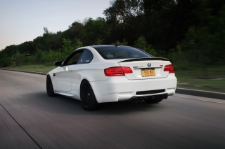 BMW M3 E92 GT2 Background for Android, iPhone and iPad